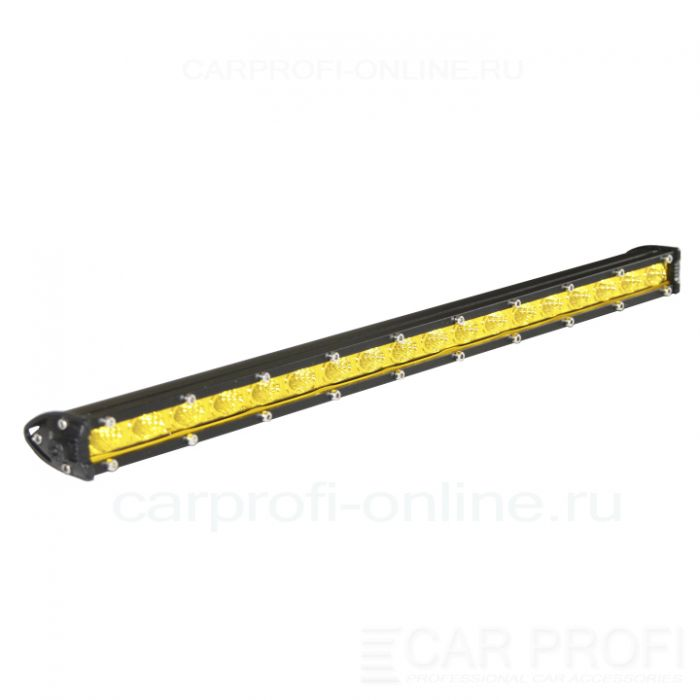 Светодиодная балка CarProfi CP-SL-GDN-54 Flood, Yellow, Slim light, 54W, CREE, ближний свет