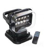 Светодиодная фара-искатель CarProfi CP-50 RM, 50W CREE, 9-32V, пульт управления, магнитная база , 1шт.