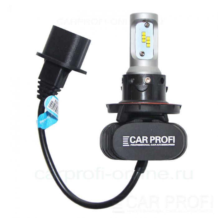 Светодиодные лампы CarProfi S1 H13 Hi/Low CSP Chip 4000Lm (комплект, 2шт)