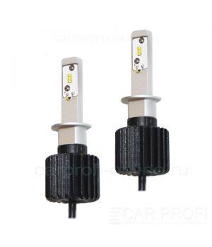 Светодиодные лампы CarProfi G7 H1 Luxeon ZES 4000Lm (комплект, 2шт)