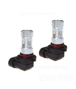 Светодиодная лампа CarProfi DRL CP HB4 (9006), 6LED CREE XB-D 30W (5100K) блистер 2шт.