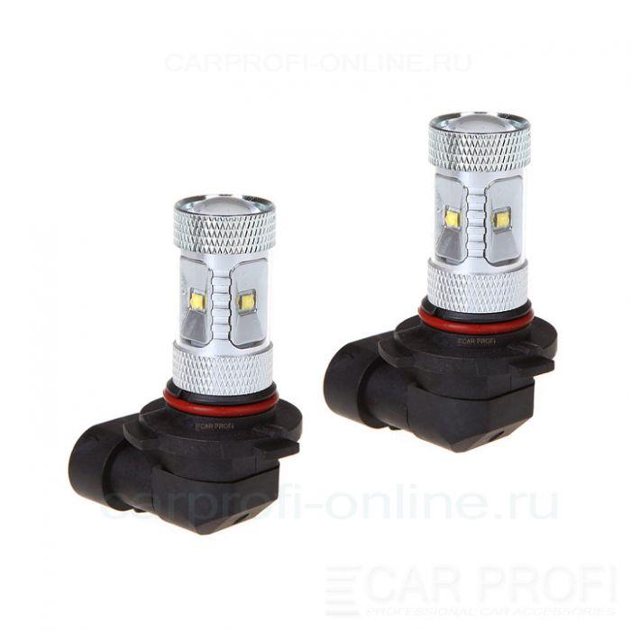 Светодиодная лампа CarProfi DRL CP HB4 (9006), 30W,CREE XB-D 6LED (5100K) к-т 2 шт.