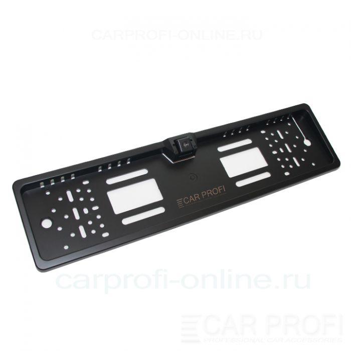 Камера заднего вида в рамке номерного знака CarProfi HX-EU08 HD (парковочные линии)