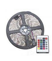 Светодиодная лента CarProfi SMD 5050 RGB, пульт управления, IP65, 60smd/m, влагозащищённая 12V (катушка 5м.)