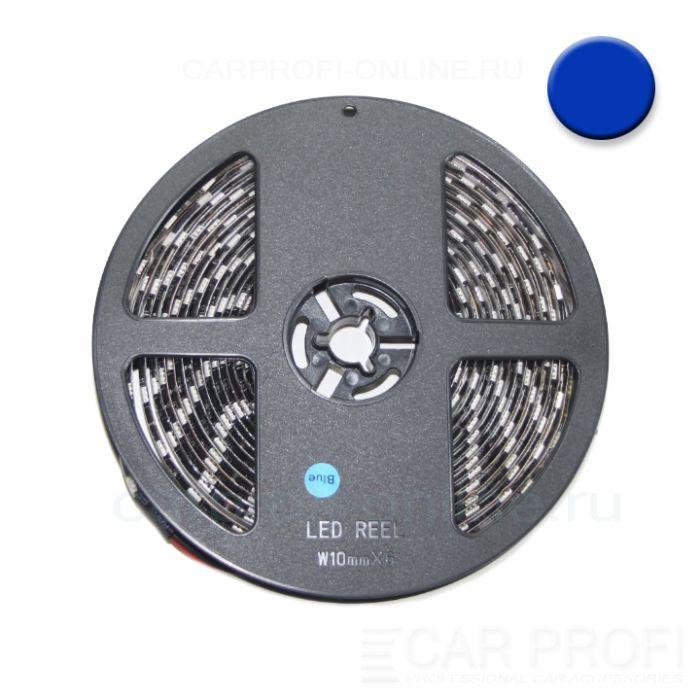 Светодиодная лента CarProfi SMD 5050 blue, IP65, 60smd/m, влагозащищённая 12V (катушка 5м.)