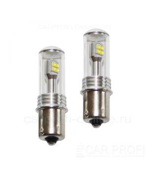 Светодиодная лампа CarProfi CP P21W 40W (BA15S, S25) CREE, 1156 - 1 контакт (5100K) 1 шт.