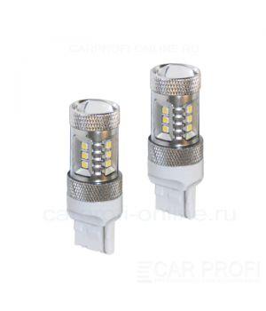 Светодиодная лампа CarProfi CP T20/W21W 15W SAMSUNG, 7440 - 1 контакт (4800K) 1 шт.
