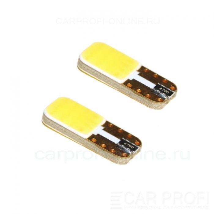 Светодиодная лампа CarProfi CP T10 Cob Can Premium 3W (4500K) с обманкой (2 шт.)