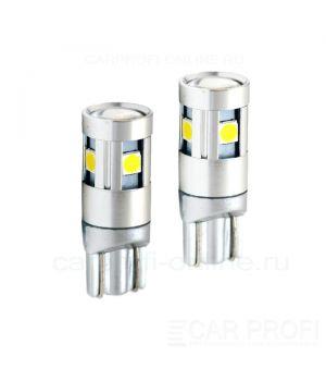 Светодиодная лампа CarProfi CP T10 5W OSRAM chip (5100K) 2 шт.