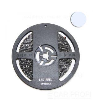 Светодиодная лента CarProfi SMD 3528 white, IP65, 60smd/m, влагозащищённая 12V (катушка 5м.)