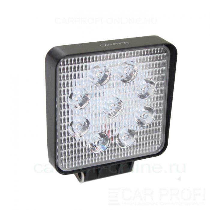 Светодиодная фара CarProfi CP-27 Spot Slim-E, 27W, SMD3030, дальний свет