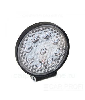 Светодиодная фара CarProfi CP-27R Flood Slim-E, 27W, Epistar, ближний свет