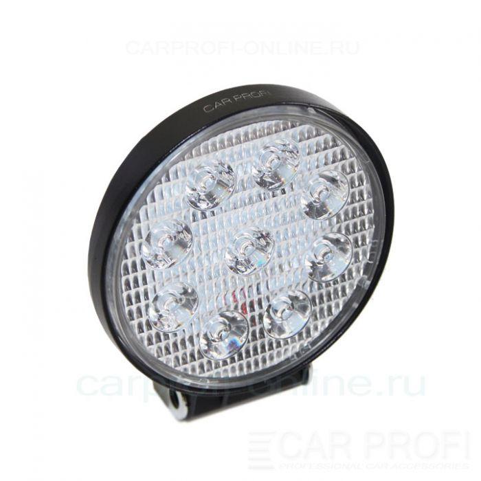 Светодиодная фара CarProfi CP-27R Spot Slim-E, 27W, SMD3030, дальний свет