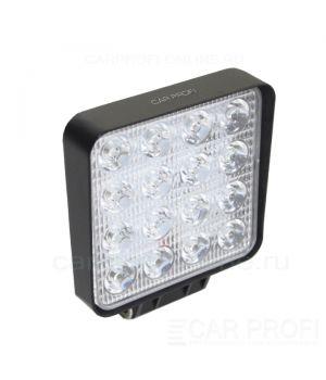 Светодиодная фара CarProfi CP-48 Spot Slim-E, 48W, SMD3030, дальний свет