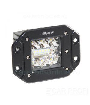 Светодиодная фара CarProfi CP-BL-36 Spot, 36W, SMD 3030, дальний свет, под врезку