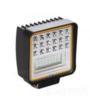 Светодиодная фара CarProfi CP-BNR-126 Spot, 126W, SMD 3030, дальний свет, функция поворотника