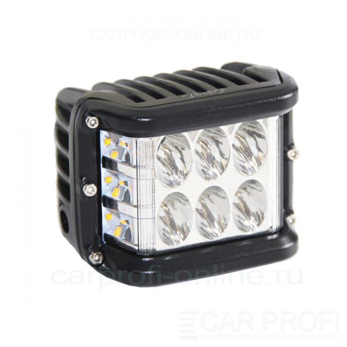 Светодиодная фара CarProfi CP-BNR-36 Spot, 36W, CREE, функция поворотника, дальний свет