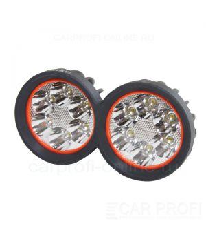 Светодиодная фара CarProfi CP-MT-36 Spot, 36W, CREE, два режима работы, дальний свет