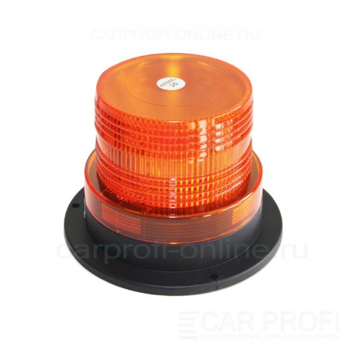 Маяк светодиодный CarProfi Revol Ving 1, желтый, SMD5050 (12-24V, магнитная база), 1шт