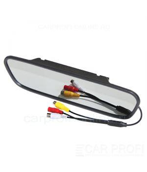 """Зеркало заднего вида CarProfi HX-501 со встроенным монитором 5"""" дюймов"""