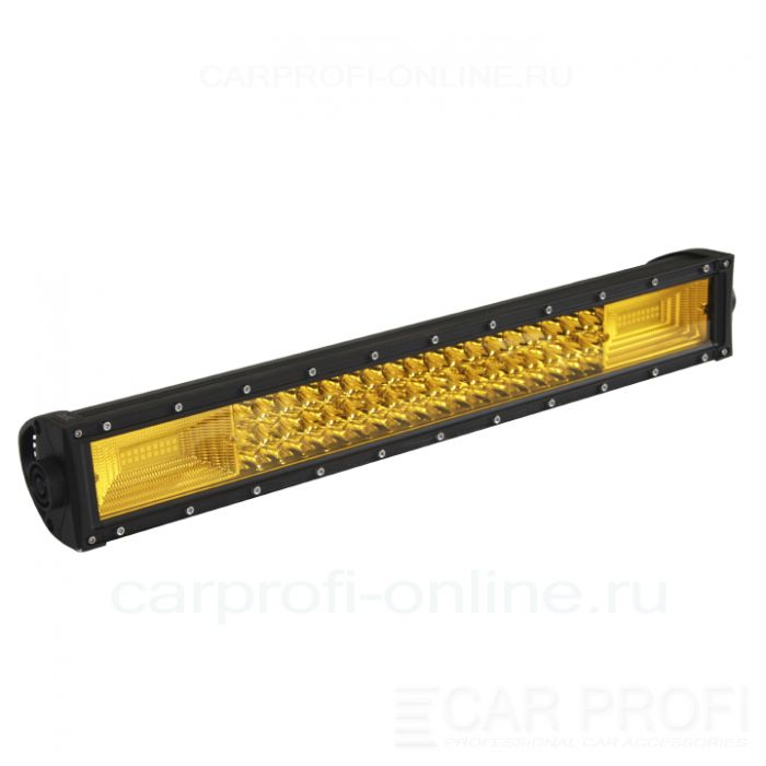 Светодиодная балка CarProfi CP-3R-GDN-270 Spot Yellow, 270W, SMD 3030, дальний свет, желтое свечение