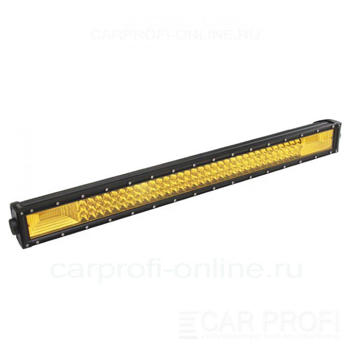 Светодиодная балка CarProfi CP-3R-GDN-432 Spot Yellow, 432W, SMD 3030, дальний свет, желтое свечение