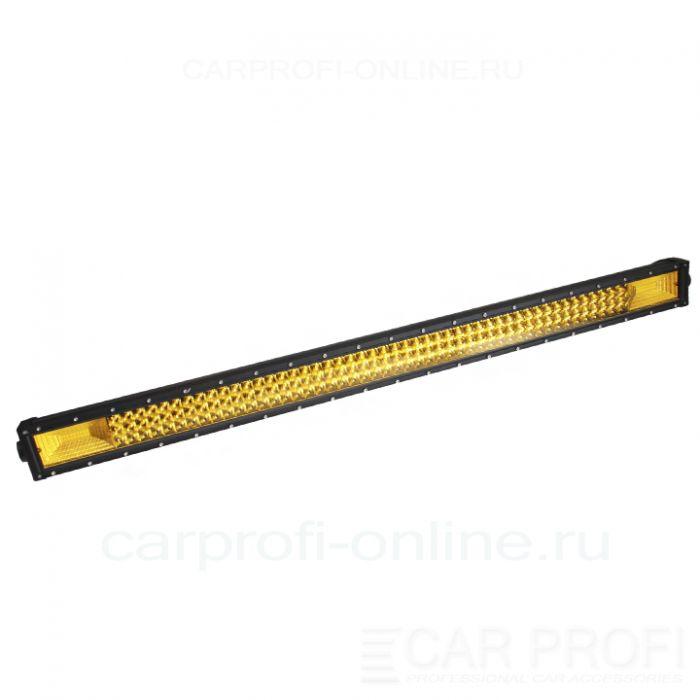 Светодиодная балка CarProfi CP-3R-GDN-540 Spot Yellow, 540W, SMD 3030, дальний свет, желтое свечение