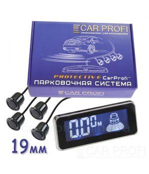 Парковочная система CarProfi CP-LCD 02-4S Protective, D-19 мм. (на 4 датчика)