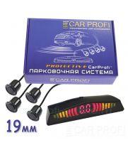 Парковочная система CarProfi CP-LED 003-4S Protective, D-19 мм. (на 4 датчика)