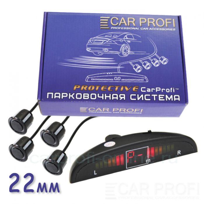 Парковочная система CarProfi CP-LED001-4S Protective D-19/22 мм (на 4 датчика) | параметры