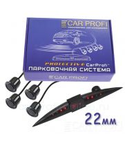 Парковочная система CarProfi CP-LED006-4S Protective D-22 мм (на 4 датчика)
