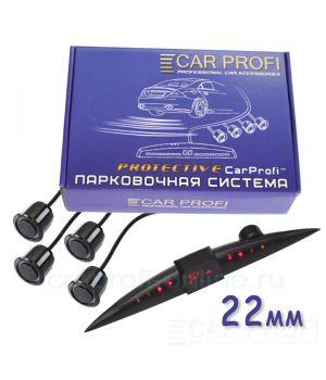 Парковочная система CarProfi CP-LED006-4S Protective D-19/22 мм (на 4 датчика)