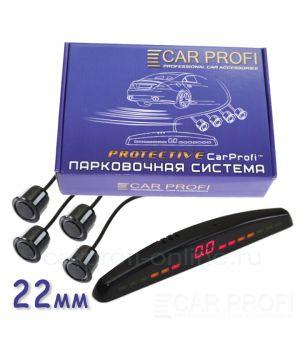 Парковочная система CarProfi CP-LED118 Protective D-19/22 мм (на 4 датчика)