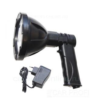 Фара-искатель CarProfi CP-MH-LED-10W Battery в прикуриватель, ручной, LED CREE 10W