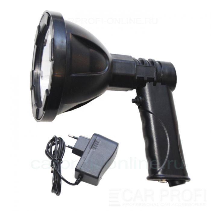 Фара-искатель CarProfi CP-MH-LED-10W Battery 12V, ручной, LED CREE 10W