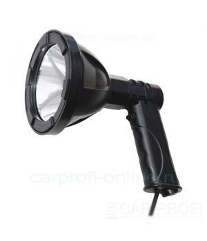 Фара-искатель CarProfi CP-MH-LED-10W в прикуриватель, ручной, LED CREE 10W