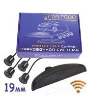 Парковочная система CarProfi CP-WLS-LED 001-4S Protective, Wi-Fi, D-19 мм. (на 4 датчика)