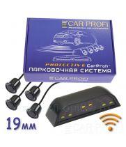 Парковочная система CarProfi CP-WLS-LED 002-4S Protective, Wi-Fi, D-19 мм. (на 4 датчика)