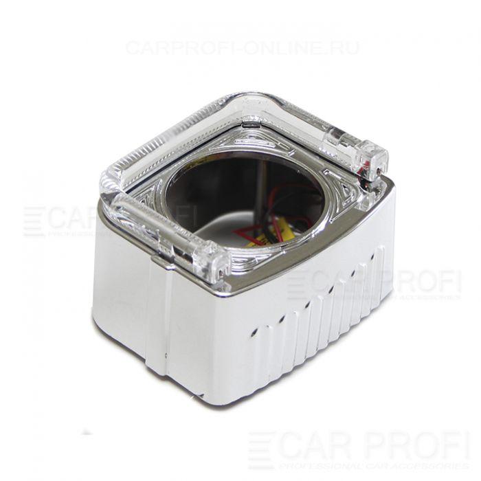"""Маска для би-линзы CarProfi CUBE 2.5"""" (Z150) АГ CREE, комплект 2шт"""
