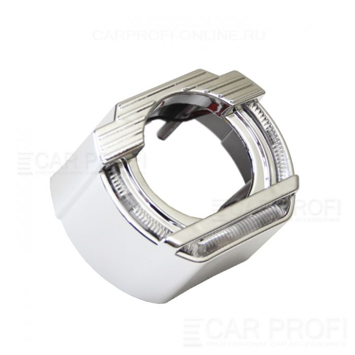 "Маска для би-линзы CarProfi ROOF 2.5"" (Z151) АГ CREE, комплект 2шт"