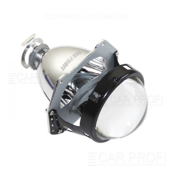 Би-ксеноновые линзы CarProfi H1, 3.0 дюйма, HL New, комплект 2 шт. без масок