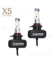 Светодиодные лампы CarProfi CP-X5 HIR2 (9012) CSP new 6000Lm (комплект, 2шт)