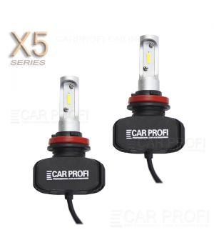 Светодиодные лампы CarProfi CP-X5 H11 CSP new 6000Lm (комплект, 2шт)