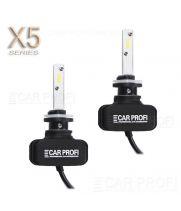 Светодиодные лампы CarProfi CP-X5 H27 (880/881) CSP new 6000Lm (комплект, 2шт)
