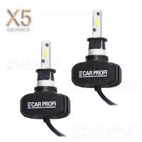 Светодиодные лампы CarProfi CP-X5 H3 CSP new 6000Lm (комплект, 2шт)