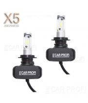 Светодиодные лампы CarProfi CP-X5 H7 CSP new 6000Lm (комплект, 2шт)