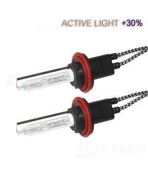 Ксеноновая лампа CarProfi H11 Active Light +30%, 5100k,  (AC, Керамика) 1 шт.