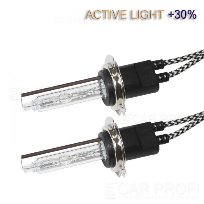 Ксеноновая лампа CarProfi H7 Active Light +30%, 5100k,  (AC, Керамика) 1 шт.