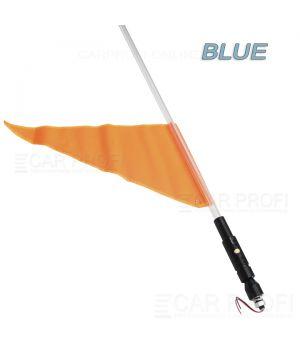 Светодиодный LED ФлагШток CarProfi CP-LX406 BLUE 4FT, 10W LED CREE (синие свечение)