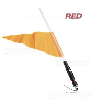 Светодиодный LED ФлагШток CarProfi CP-LX406 RED 4FT, 10W LED CREE (красное свечение)